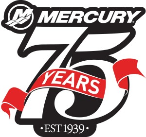 Mercury 75 Years Logo