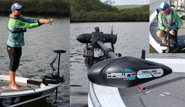 HASWING INTRODUCES THE CAYMAN B 24V 80lb BOW MOUNT ABT