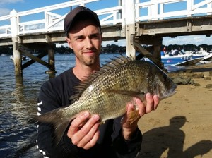 Round 4 Big Bream Winner Michael Colotouros