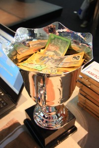 The cup of cash
