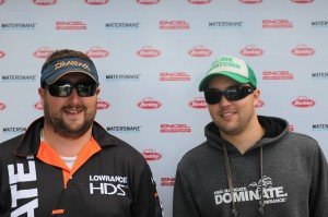 5th Place Team Bluewater: Lowrance- with Alex Greisdorf and Luke Ryan