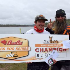 Austackle Lake Boondooma BASS Pro- Results