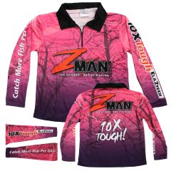 ZMan Pink Fishing Shirt