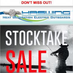 Haswing Marine Stocktake Sale