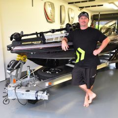 Inside Pros' Boat- Mark Crompton