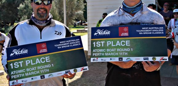 Western Australia Tournaments Anglers- R1 Results