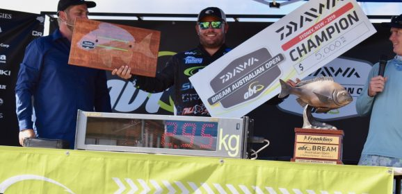 Final Results | Daiwa BREAM Australian Open, 19-21 March 2019