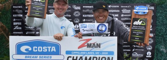 Final Results | 2020 Costa BREAM Series, ZMan Gippsland Lakes Qualifier (8/9 Feb)