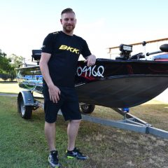 Inside Pros' Boat- Charles West